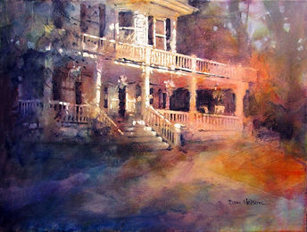 Pamlico House Wedding Painting, Dan Nelson
