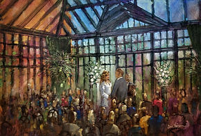 Wedding Painting Rochester Hills, MI, Dan Nelson
