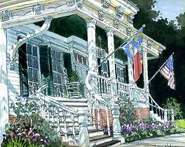 Wedding Watercolor Painting Dan Nelson
