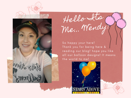Welcome To Stars Above Balloons Blog