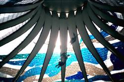 Brasilia catedral interior