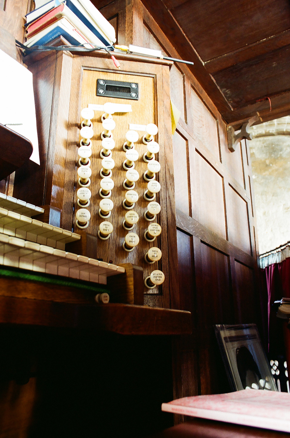 Rare view of the organ at Saint Bartholomew the Great in Smithfield