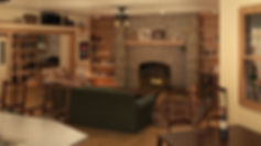 3D Studio Max and Vray Interior Model and Rendering of a Cottage House Living Room