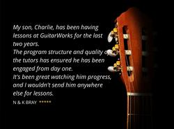 GuitarWorks Testimonial