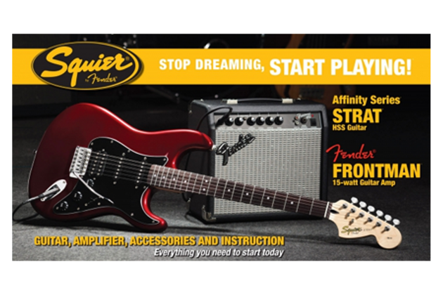 Guitar Buying Guide - Squire Starter Pack