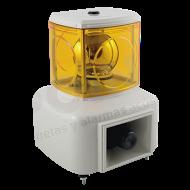 Alarma Audiovisual 110VCA 5 tonos 100 DB