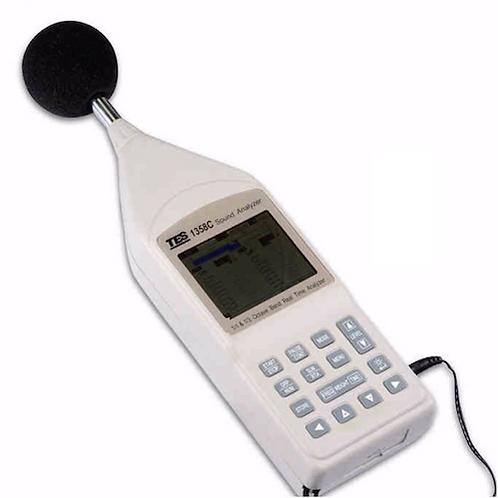 Sonómetro Analizador de tercios y octavos de banda