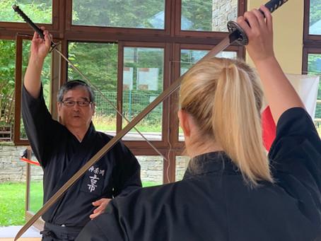 La pratica delle arti marziali