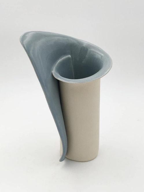 "Small Blue Vase 8"" (B Sm3-8"")"
