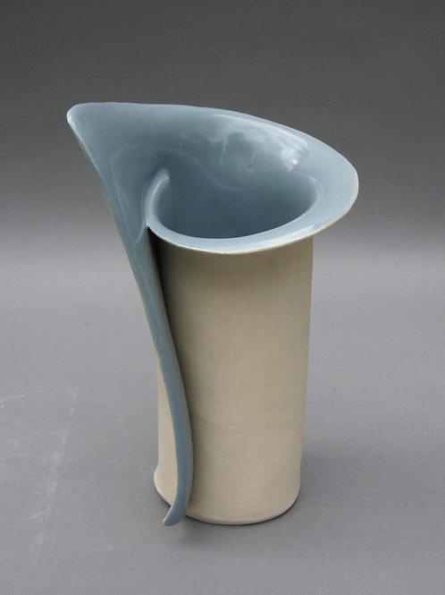 Small Blue Vase