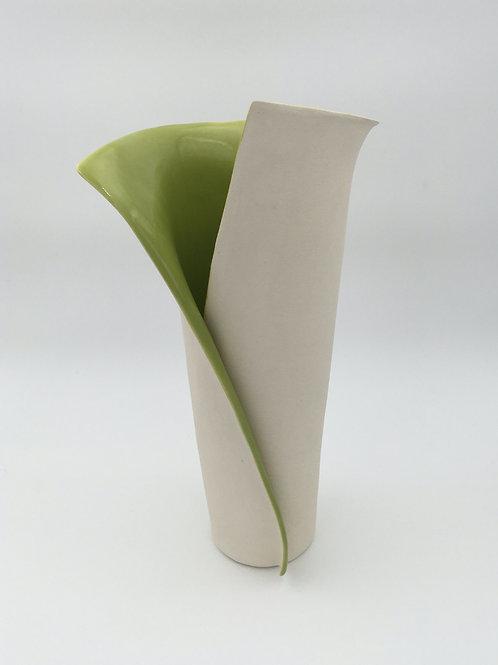 Green Envelope Vase
