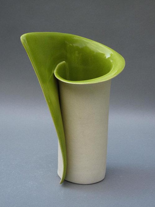 Med Green Vase