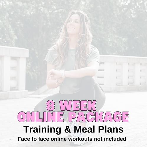 8 Week Online Fat Loss Plan