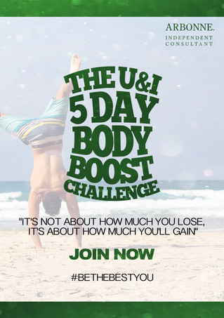 The U&I 5 Day Body Boost Challenge!