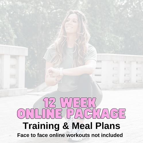 12 Week Online Fat Loss Plan