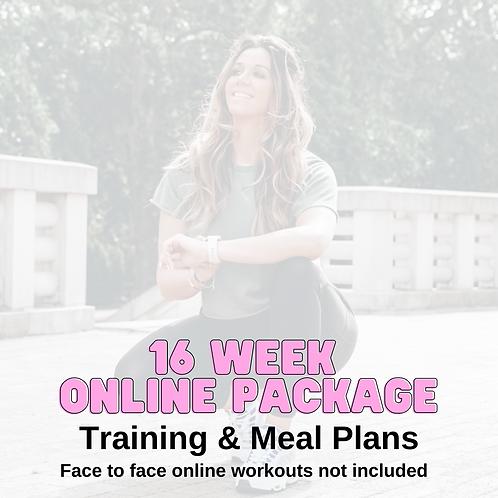 16 Week Online Fat Loss Plan