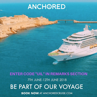 Who said cruising is for oldies? Let's get ANCHORED!