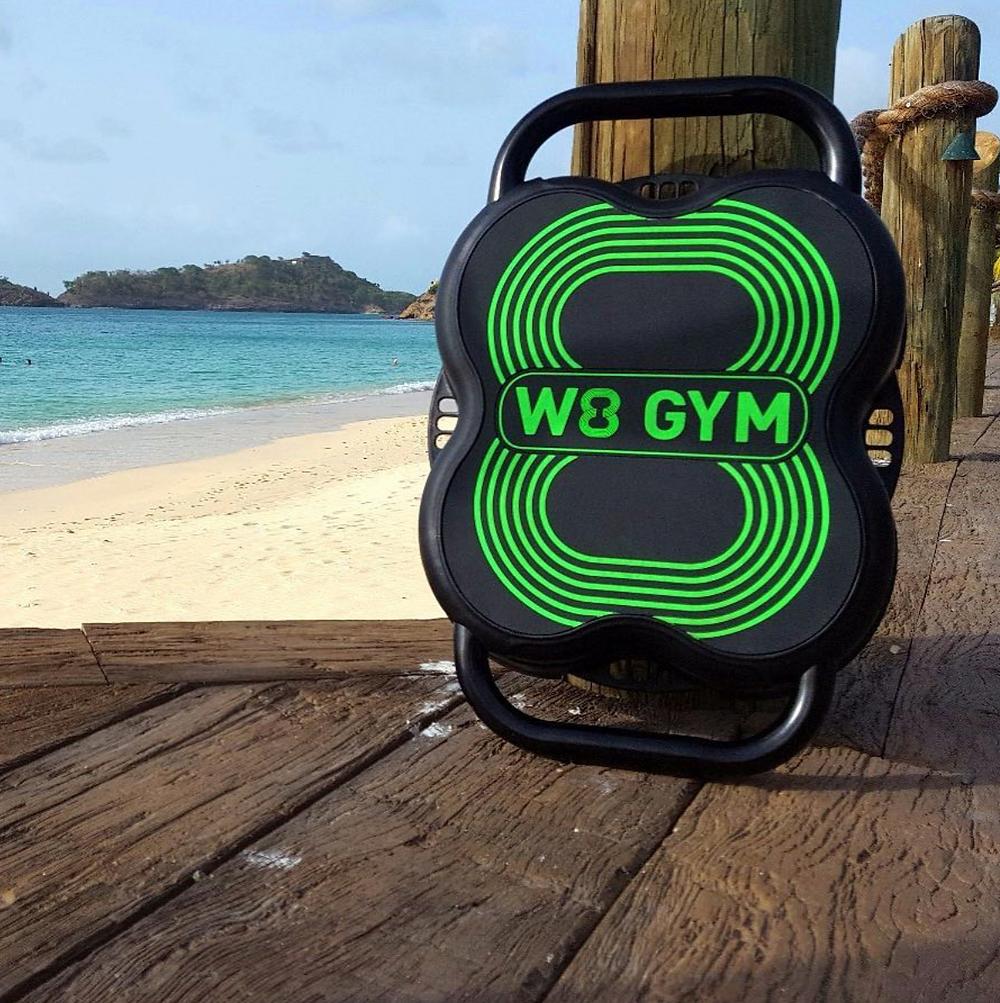 W8 GYM on the beach