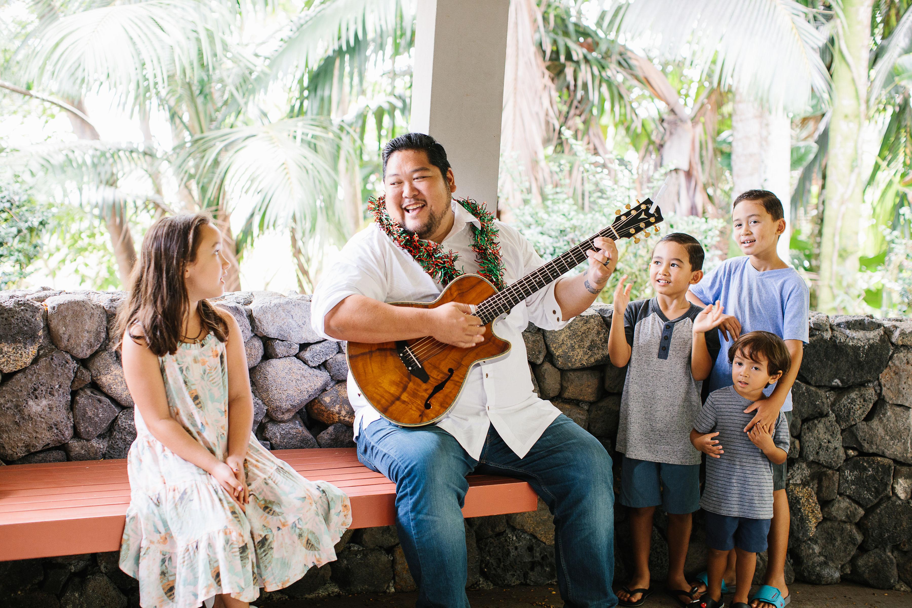 Mark Yamanaka and Kids