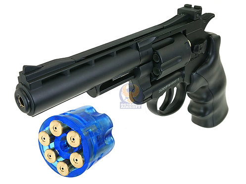 "WELL G296B Full Metal 4""Inch 6mm CO2 Revolver."