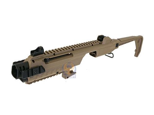 Armorer Works Polymer Glock Carbine Kit AW-K03002 Tan