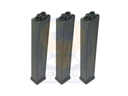 Classic Army Pack of 3 UMC AEG 470rds Hi-Cap Magazine.P414P-T.