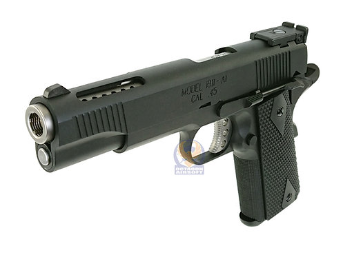 AW CUSTOM V12 Gas Blow Back Pistol.NE1202 BLACK