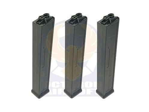 Classic Army Pack of 3 Set UMC AEG 100rds Mid-Cap Magazine.P415P-T.