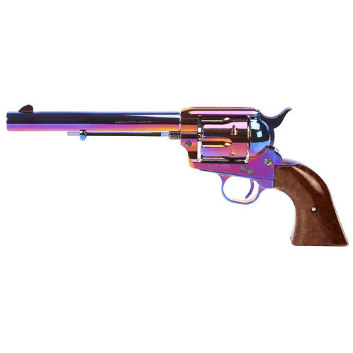 King Arms SAA .45 Peacemaker Airsoft Gas Revolver M 6 inches - Bluing