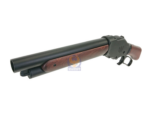 S&T M1887 Wild Card Shell Ejecting Gas Shotgun Real Wood Shorty