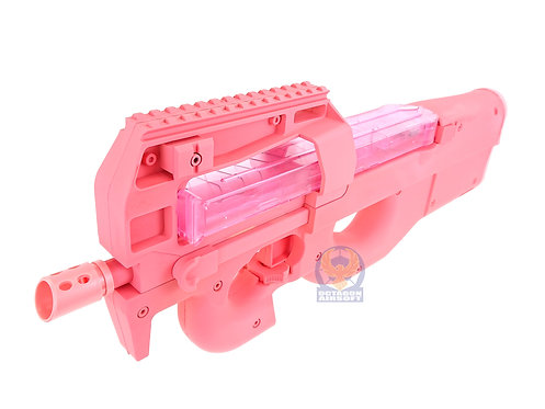 Bing Feng Pink P90 Gel Ball Blaster (AEG Similar 7-8mm Gel Ball Gear Box)