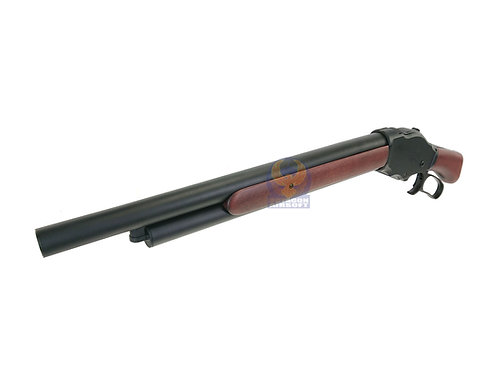 S&T M1887 Sawed Off Shell Ejecting Gas Shotgun Real Wood Medium