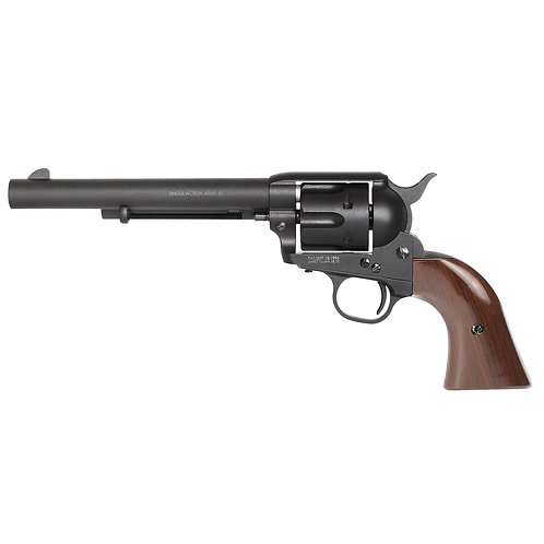 King Arms SAA .45 Peacemaker Airsoft Gas Revolver M 6 inches - Dull Black