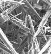 Kalkkristalle nach der Wasserenthärtung