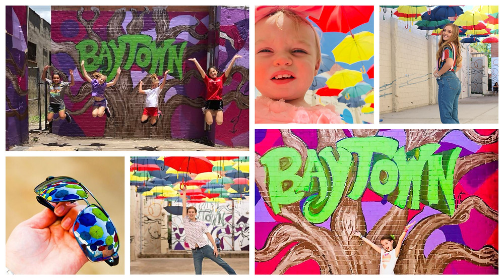 Collage of #Iheartbaytown photos