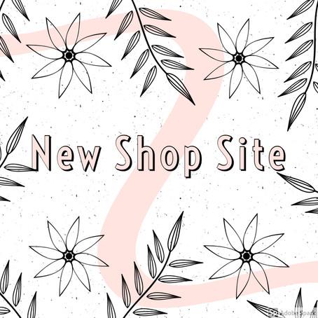 New Shop Site