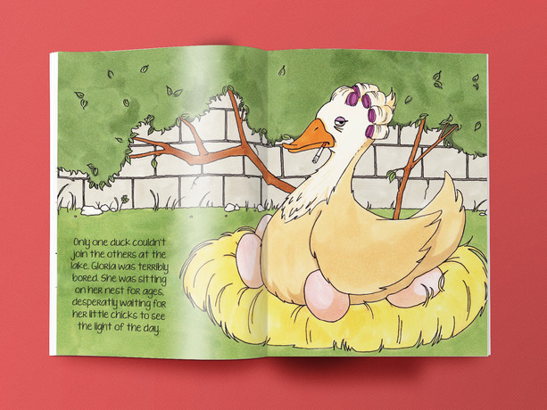 """KINDERBUCH """"THE UGLY DUCKLING"""""""