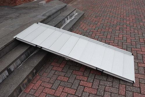 Hellingbaan vouwbaar in breedte 240cm