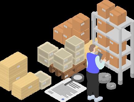 Inventory locations in TRXio