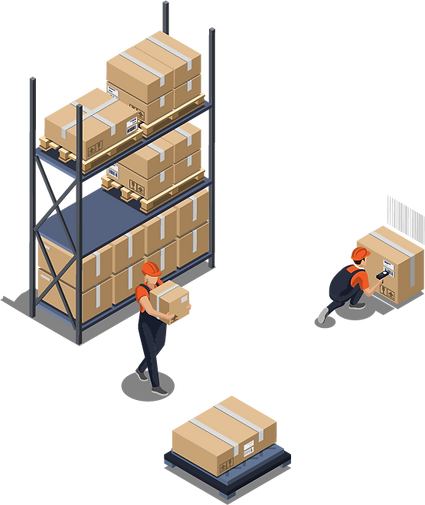 Order 1 and 2 logistics with TRXio