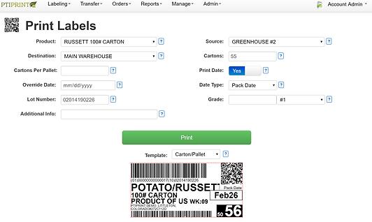 pti demo add labels screenshot 26feb2019