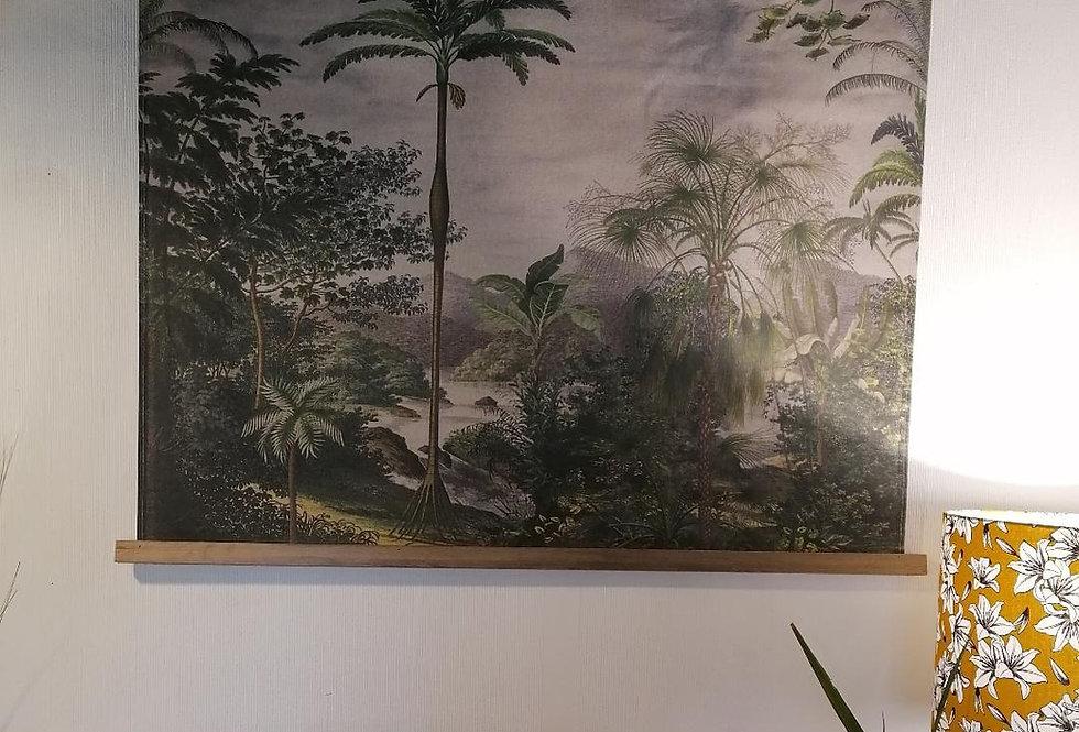 Tenture murale jungle 97x76 cm