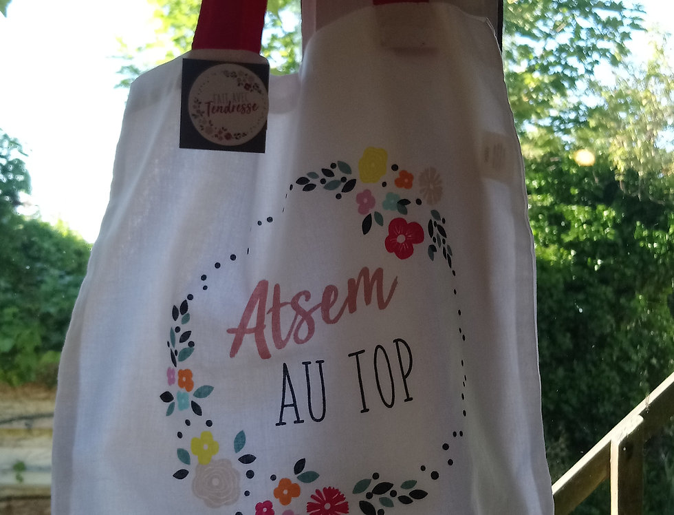 Tote bag atsem au top