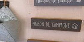 """Déco murale """"maison de campagne"""" ou """"maison de famille"""""""