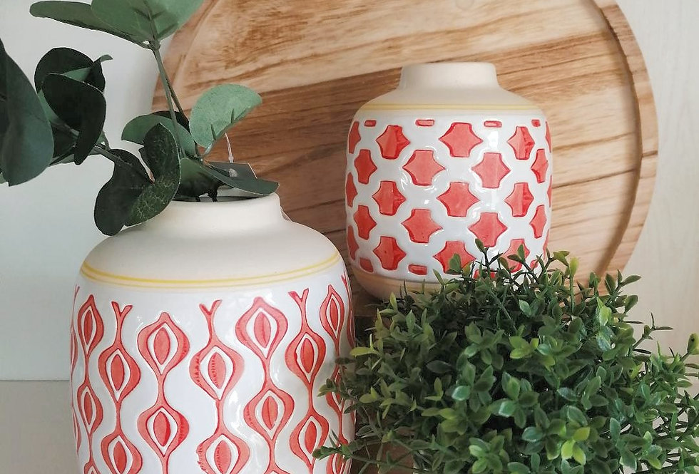 Set 2 vases