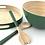 Thumbnail: Plateau vert en bambou