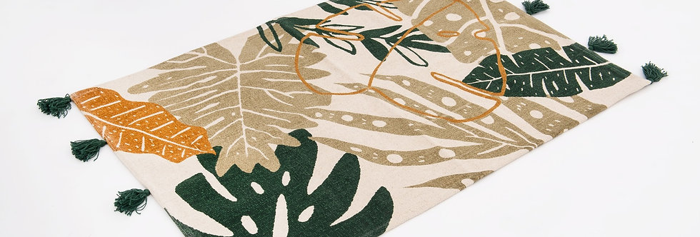 Tapis palmier 120x180 cm