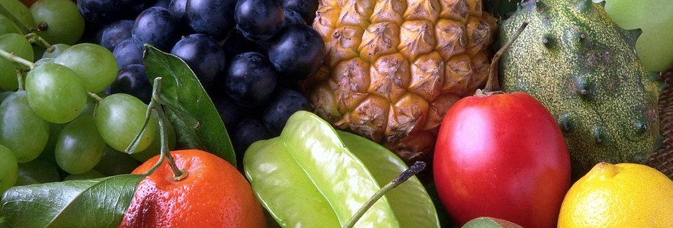 Liste d'infusions fruitées - 100 g