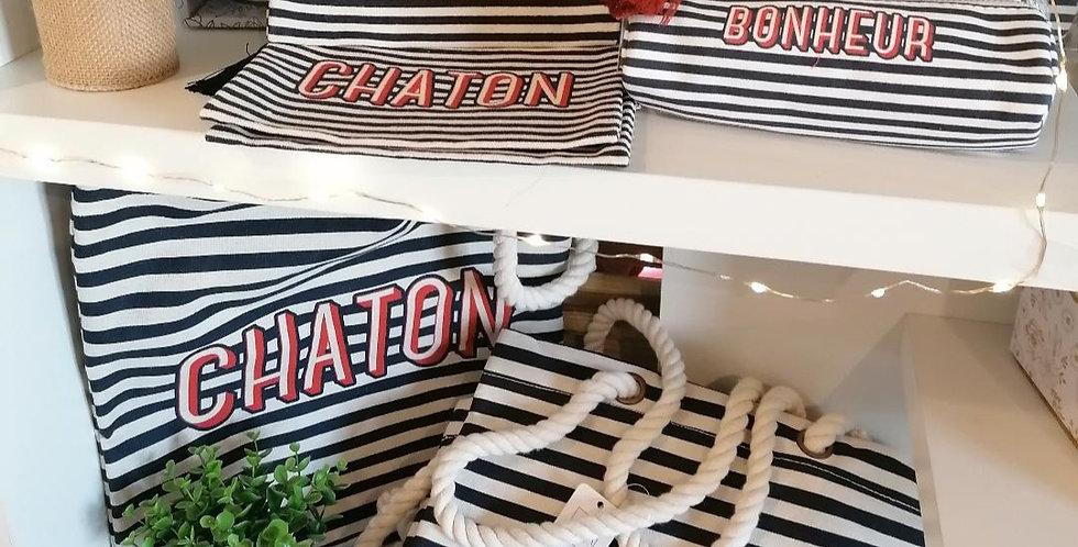 """Tote-bag """"Chaton"""""""