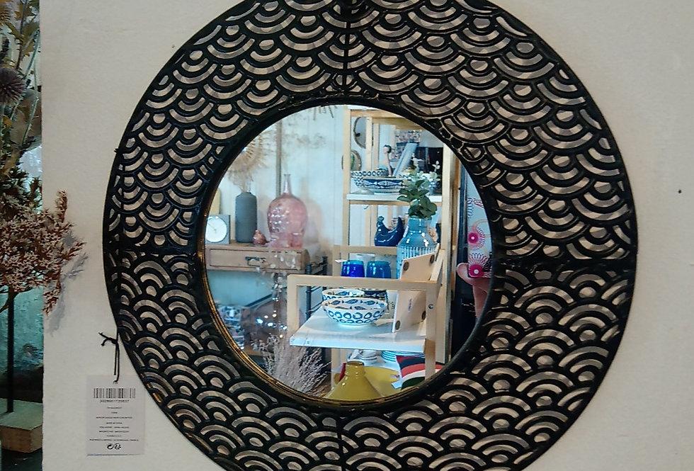 Miroir ajouré rond
